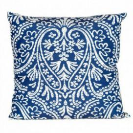 Cojín Paisley azul