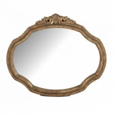Espejo barroc dorado envejecido muebles y decoraci n de for Espejo envejecido