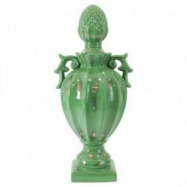Centro Coupe verde cerámica