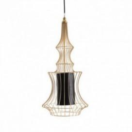 Lámpara colgante serie Iconic dorada