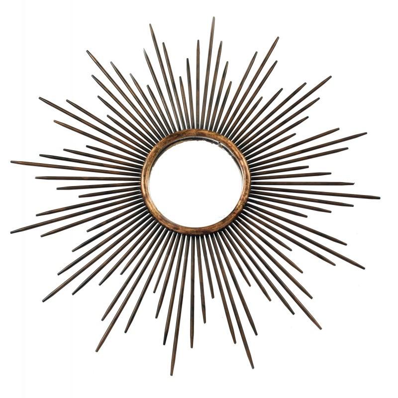 espejo sol metal envejecido muebles y decoraci n de dise o
