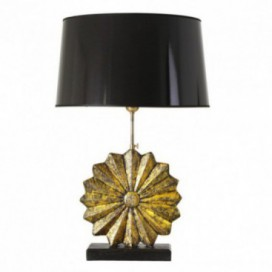 Lámpara sobremesa Antik concha oro