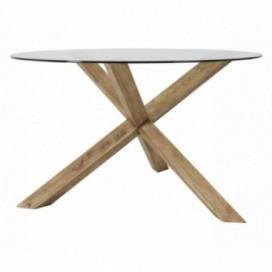 Mesa comedor cruceta  Inrid madera mindi