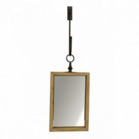 Espejo serie Spenser rectangular madera natural