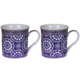 Set 2 tazas Dream Blue color azul