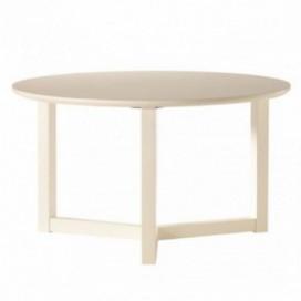 Mesa de centro Leo madera DM lacado blanco
