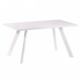 Mesa comedor Select DM color blanco nórdica