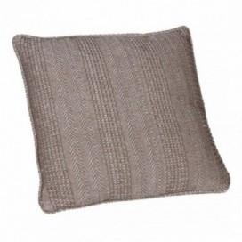 Cojín Calic marrón espiga 100% algodón