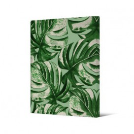 Cuadro hojas serie Tropic sobre lienzo