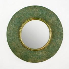 Espejo Miss circular de color verde
