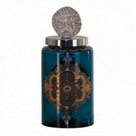 Botella de tocador turquesa