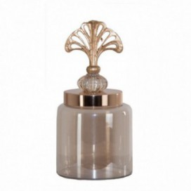 Botella de tocador Helen pequeña color dorado brillo colonial
