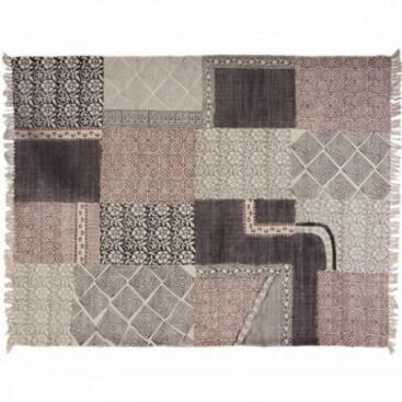 Alfombra patchwork 100 algod n indio muebles y for Alfombras persas historia