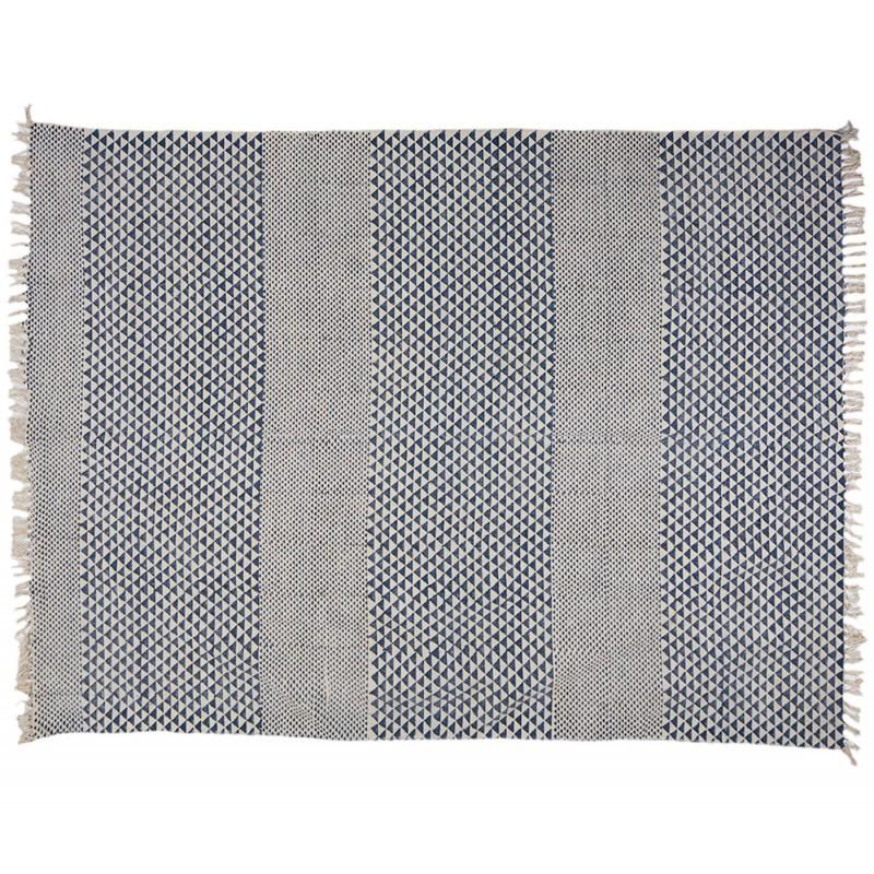 Alfombra yamir 100 algod n indio muebles y decoraci n de for Alfombras de algodon indias