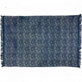 Alfombra Blau algodón