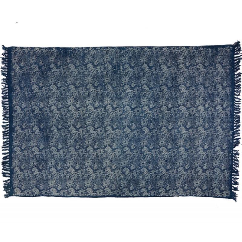 Alfombra blau 100 algod n indio muebles y decoraci n de for Alfombras de algodon indias