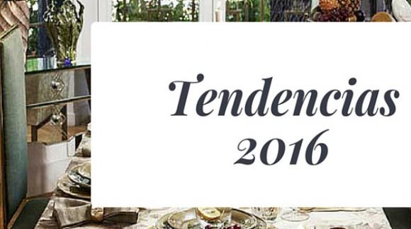 Tendencias decoración 2016
