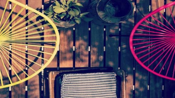 20 ideas deco con la silla Acapulco