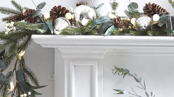 Ideas para decorar con verde esta Navidad